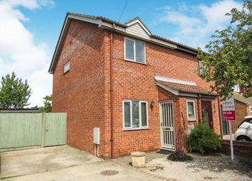 2 bed semi-detached house for sale in Meadow Way, Hellesdon, Norwich NR6