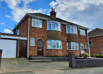Thumbnail 3 bed semi-detached house for sale in Kingsway North, Leicester