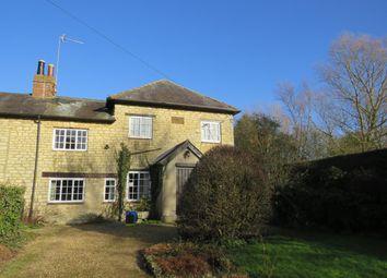 Thumbnail 3 bed semi-detached house to rent in Chapel Lane, Thornborough, Buckingham