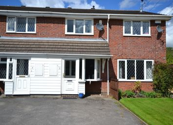 Thumbnail 2 bedroom town house for sale in Greenlea Close, Stoke-On-Trent