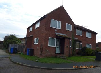 Thumbnail 1 bed end terrace house to rent in Field View Gardens, Beccles