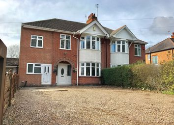 Thumbnail 5 bedroom semi-detached house for sale in Braunstone Lane, Leicester