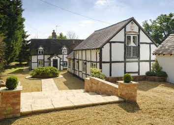 Thumbnail 4 bed detached house for sale in Pinley Green, Claverdon, Warwick