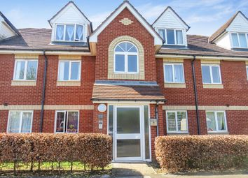 Thumbnail 2 bed flat for sale in Peterhouse Close, Peterborough