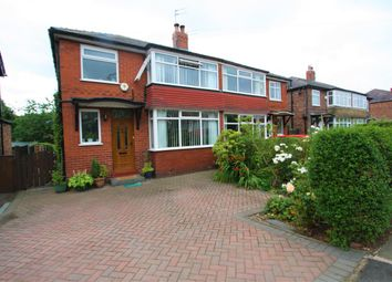 Thumbnail 3 bed semi-detached house for sale in Heys Road, Prestwich, Manchester