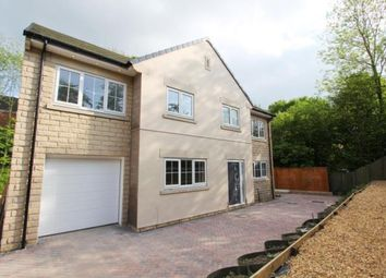 Thumbnail 5 bed detached house for sale in Godley Brook Lane, Godley, Hyde, Cheshire