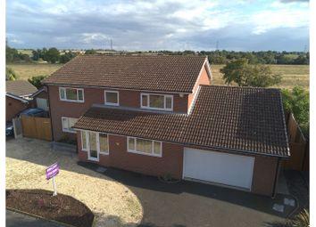 Thumbnail 4 bed detached house for sale in Sanderling Court, Kidderminster
