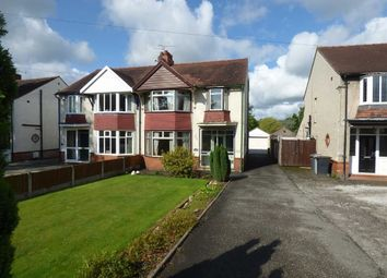 Thumbnail 3 bed semi-detached house for sale in Crewe Road, Wistaston, Crewe