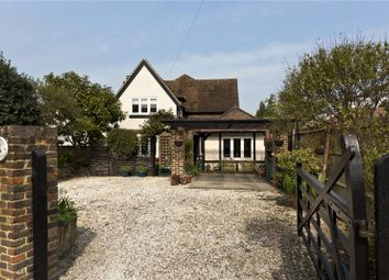 Thumbnail 4 bedroom detached house for sale in South Road, Weybridge, Surrey