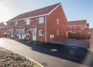 Thumbnail 2 bed end terrace house for sale in Shotesham Road, Poringland, Norwich