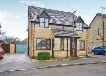 Thumbnail 2 bed semi-detached house for sale in Oakes Close, Somercotes, Alfreton