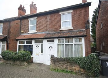 Thumbnail 2 bed semi-detached house to rent in Alexandra Crescent, Beeston, Nottingham