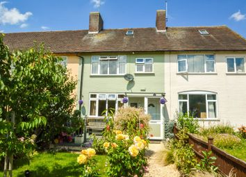 Thumbnail 3 bed terraced house to rent in Ash Walk, Stradishall, Newmarket