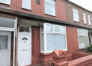 Thumbnail 3 bedroom terraced house for sale in Cumbrae Road, Levenshulme, Manchester