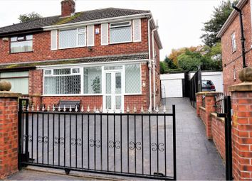 Thumbnail 3 bed semi-detached house for sale in Dinorwic Close, Manchester