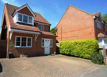Thumbnail 3 bedroom detached house for sale in Villagers Close, Wootton, Northampton