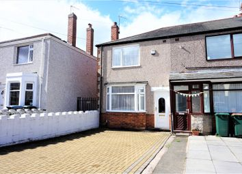 Thumbnail 2 bedroom end terrace house for sale in Geoffrey Close, Coventry