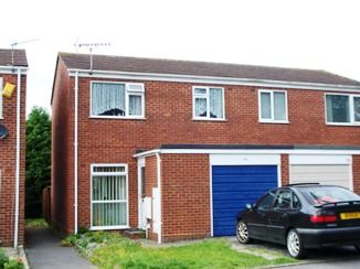 Thumbnail 3 bed semi-detached house to rent in Seliot Close, Oakdale, Poole