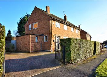 Thumbnail 2 bed semi-detached house for sale in Brackenwood Drive, Leeds