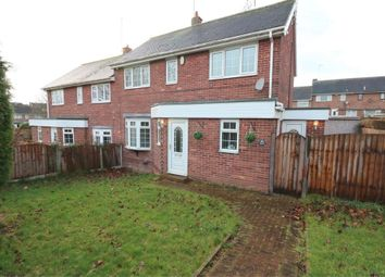 Thumbnail 3 bed semi-detached house for sale in Grayson Road, Rockingham, Rotherham, South Yorkshire