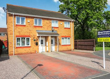 Thumbnail 3 bed semi-detached house for sale in Lyvelly Gardens, Peterborough