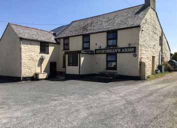 Thumbnail Pub/bar for sale in The Sportsmans Arms, Four Lanes, Redruth