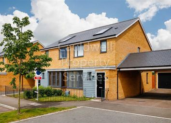 Thumbnail 3 bedroom semi-detached house for sale in Butter Row, Wolverton, Milton Keynes, Bucks