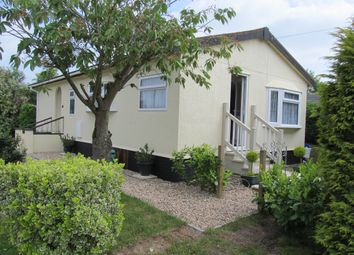 Thumbnail 2 bedroom mobile/park home for sale in Wixfield Park, Great Bricett, Ipswich, Suffolk