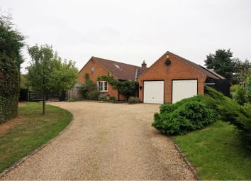 Thumbnail 6 bed detached bungalow for sale in Gelston, Grantham