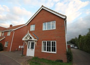 Thumbnail 4 bed detached house to rent in Swallow Tail Close, Norwich