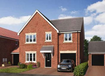 Thumbnail 4 bed detached house for sale in Gateway Avenue, Newcastle Under Lyme Staffordshire