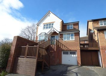 Thumbnail 4 bed detached house for sale in Tegid Drive, New Broughton, Wrexham, Wrecsam