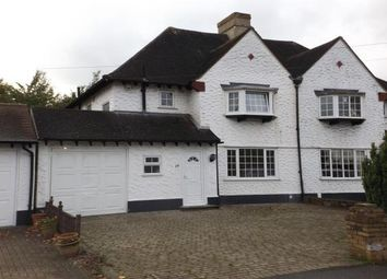 Thumbnail 3 bed semi-detached house to rent in Fairway, Petts Wood