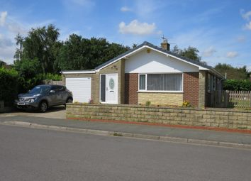 Thumbnail 3 bedroom detached bungalow for sale in Ancaster Drive, Sleaford