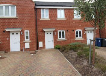 Thumbnail 2 bed terraced house to rent in Furrowfields, St. Neots
