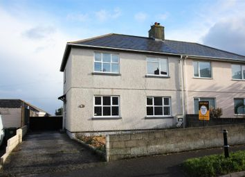 Thumbnail 3 bed semi-detached house for sale in St. Pirans Road, Newquay