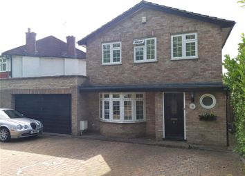 Thumbnail 4 bed detached house to rent in London Road, Ewell, Epsom