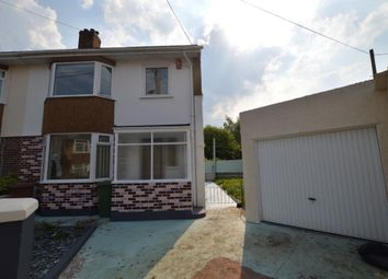 Thumbnail 3 bedroom semi-detached house for sale in Thornyville Drive, Plymouth, Devon