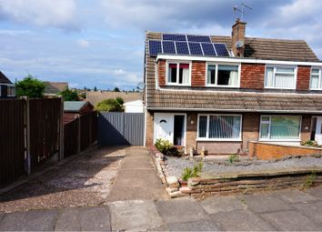 Thumbnail 3 bed semi-detached house for sale in Moorland Way, Mansfield