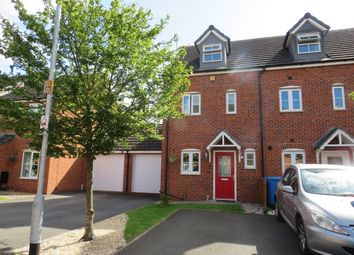 Thumbnail 3 bed town house for sale in Forge Close, Churchbridge, Cannock