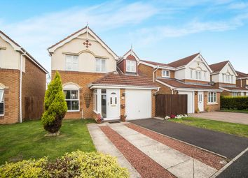 Thumbnail 3 bed detached house for sale in Longhirst Drive, Cramlington