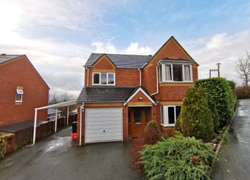 Thumbnail 4 bed detached house to rent in Brynfa Avenue, Welshpool, Powys