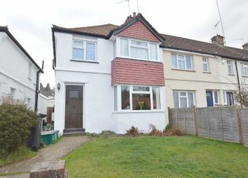 Thumbnail 3 bed end terrace house for sale in Chipstead Valley Road, Coulsdon
