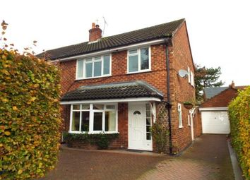 Thumbnail 3 bed semi-detached house for sale in Sandiway, Knutsford, Cheshire
