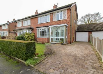 Thumbnail 3 bed semi-detached house for sale in Syddal Green, Bramhall, Stockport