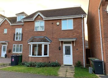 Thumbnail 4 bedroom detached house to rent in Reedland Way, Hampton Vale, Peterborough