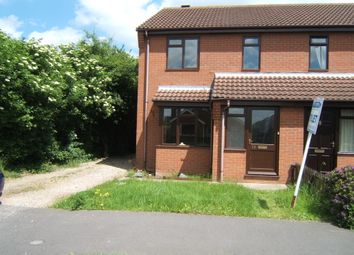 Thumbnail 3 bed end terrace house to rent in Shearwater Close, Louth