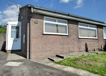 Thumbnail 2 bedroom semi-detached bungalow for sale in Heol Ffranc, Neath, Neath Port Talbot.