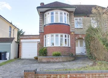 Thumbnail 3 bed semi-detached house for sale in Prince George Avenue, Oakwood