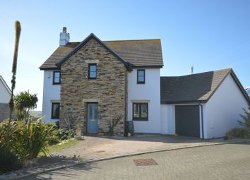 Thumbnail 4 bed detached house for sale in Jubilee Close, Cubert, Newquay